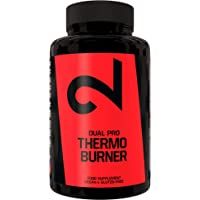 DUAL Pro Thermo Burner  Pillole Brucia Grassi Dietetiche Termogeniche 100% Naturali 90 Capsule Vegane Dimagranti Keto…
