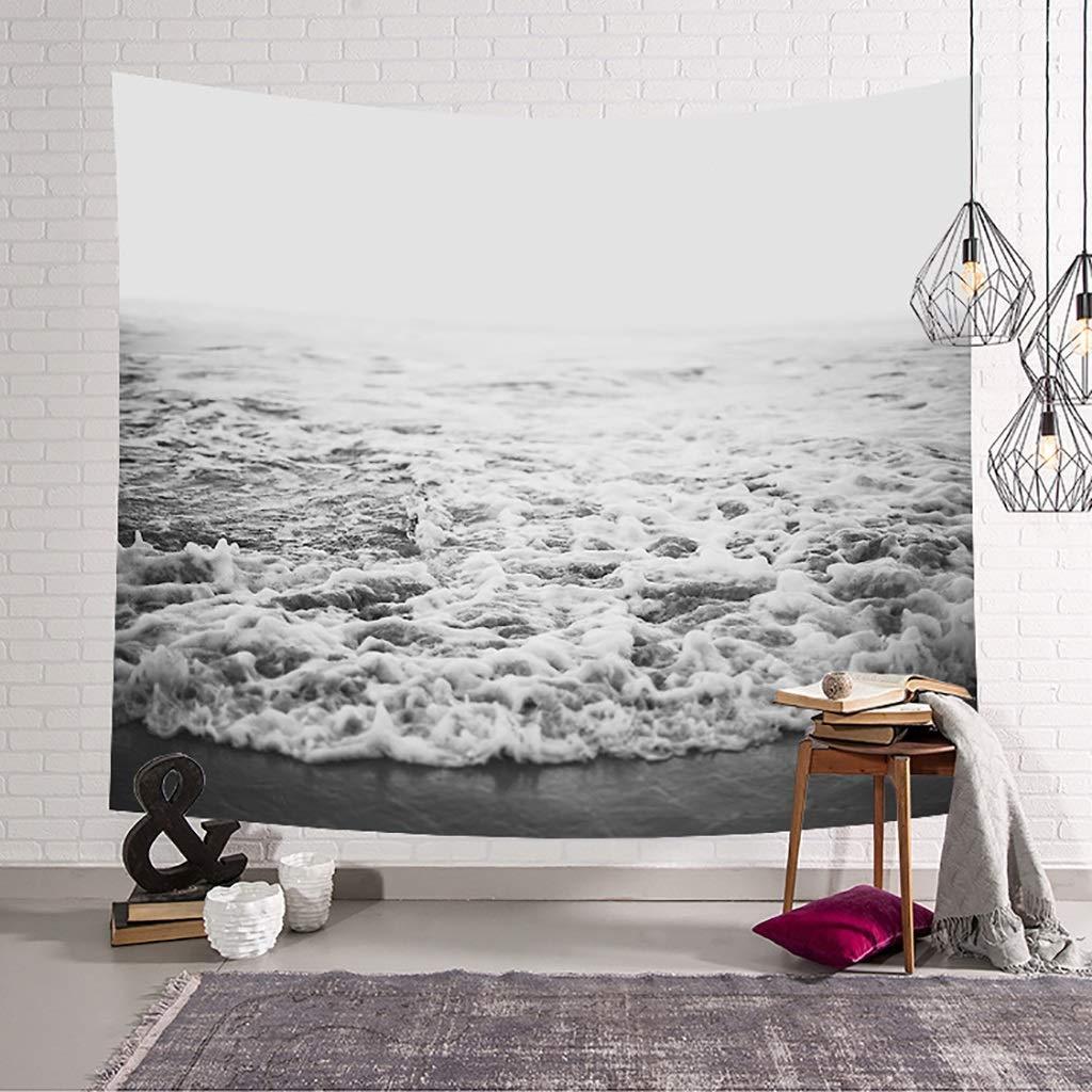 GT-Arazzi e tappezzeria Appeso decorazione camera da letto casual Nordic  Beach Surf modello di stampa coperta da parete arazzo appendere tessuto ...