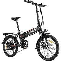 Kaibrite Mountainbike in Kohlenstoffstahl 20 Zoll City Bike mit Doppelscheibenbremse f/ür M/ädchen Jungen.