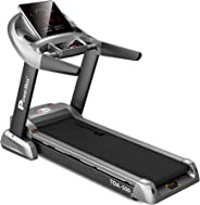 Powermax Fitness TDA-500 (4.0 HP) Motorized Treadmill with Semi Auto lubrication with 3D Smart Touch keys for Cardio Workout