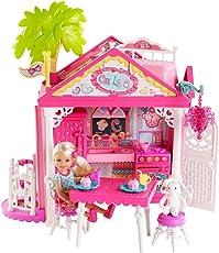 Mattel Barbie BDG50 - Puppe, Fab Family Chelsea Haus Spielset