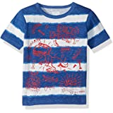 The Children's Place baby-boys 3502 Short Sleeve Fashion T-shirt Short Sleeve Stripe T-shirt With Graphic
