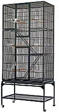 Yahee Vogelvoliere Käfig Vogelkäfig Vogelhaus Vogel Tierkäfig Zwei Modelle