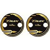 Adhesivos Cárter Cambiador Compatible con Tmax 530 Y Tmax 500 Modelo 2001/16 - Adhesivo Moto 3D Ultra Resistente - Adhesivos