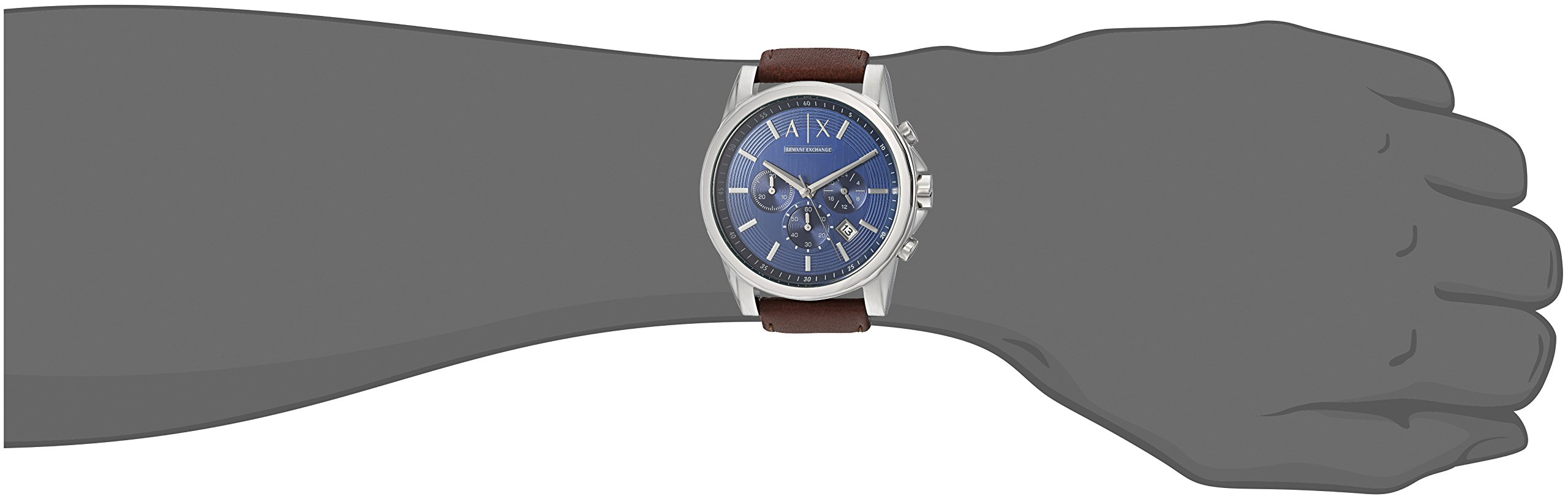 Armani Exchange Outerbanks Analog Blue Dial Men's Watch – AX2501