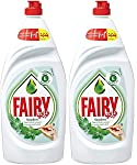 Fairy Tea with Mint Leaves Dish Washing Liquid Soap 1L Dual Pack