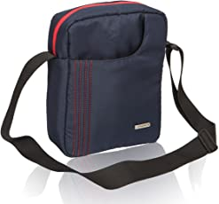 COSMUS Navy Blue Neck Pouch