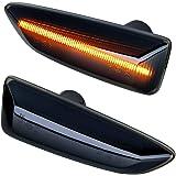 Insignia B Zafira C DoLED LED Seitenblinker Blinker get/önt Schwarz//Rauchglas kompatibel f/ür Astra J K
