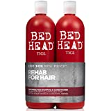 Tigi Bed Head Resurrection Tween Duo - Confezione da 2 x 750 ml (Shampoo riparatore 750 ml e Balsamo 750 ml)