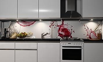 Küchenrückwand Folie Selbstklebend | Virgin | Klebefolie In Verschiedenen  Größen | Fliesenspiegel | Dekofolie | Spritzschutz | Küche | Möbel Folie:  ...