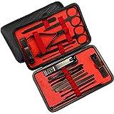 Sifan Maniküre Set Pediküre Kit Nagelknipser Profi Grooming Kit Nagelwerkzeuge 18 in 1 mit Luxuriöser Reiseetui für…