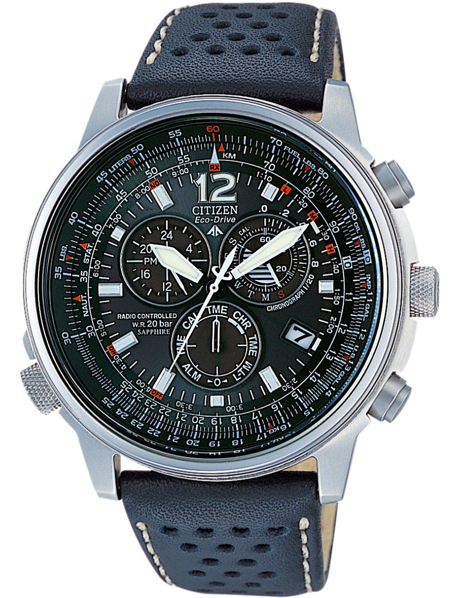 Citizen AS4020-36E – Reloj cronógrafo de Cuarzo para Hombre, Correa