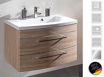 Waschplatz Waschtisch Badezimmerschrank Waschbecken Unterschrank ...