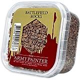 The Army Painter | Basing Battlefield Rocks | imiterar mindre stenar eller stenar | Grundfärg | för ett realistiskt utseende