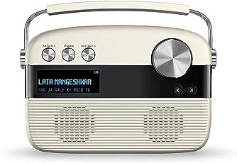 Saregama Carvaan Hindi SKU-R20008 (SC01) Portable Digital Music Player (Porcelain White)