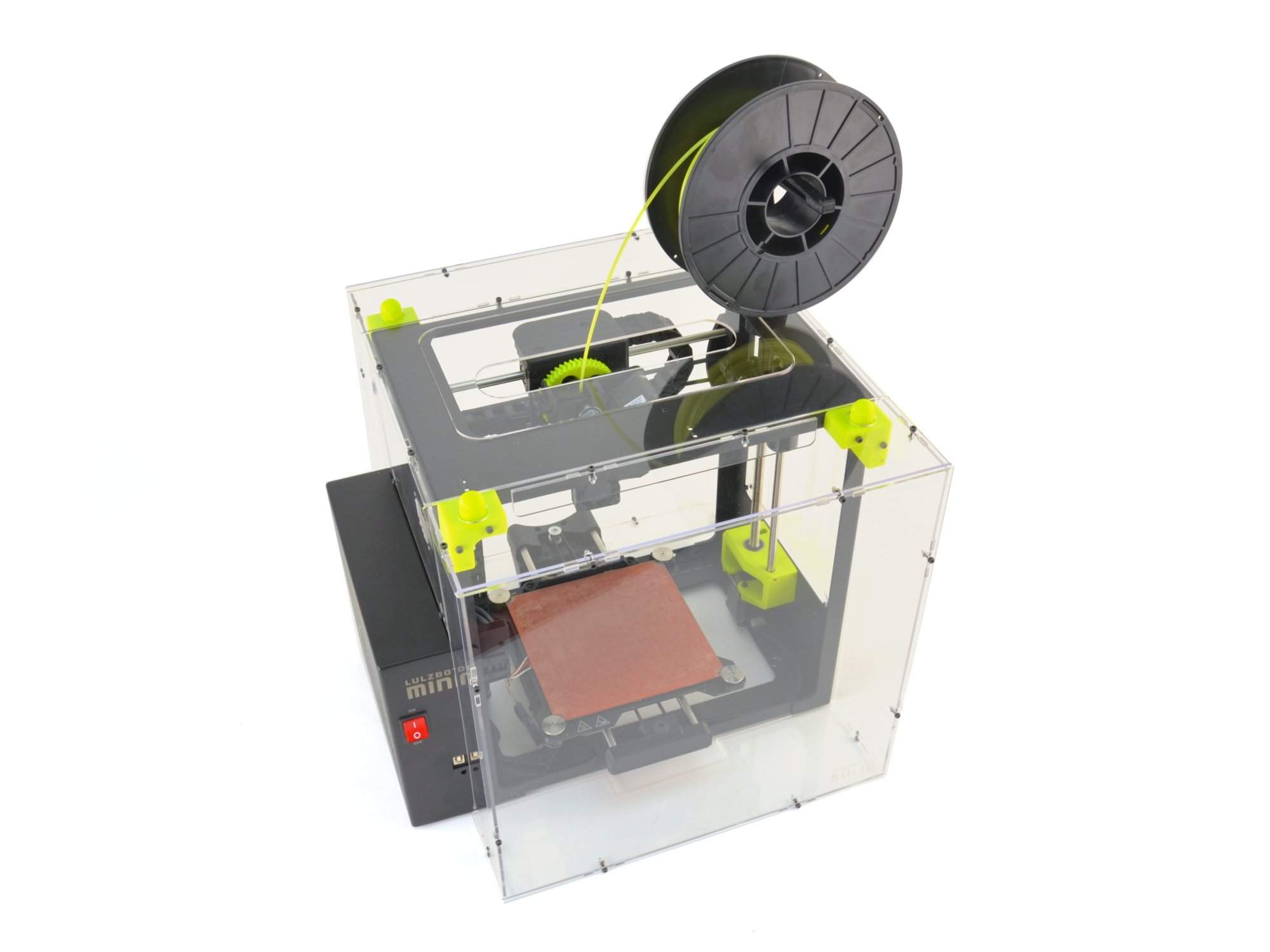 AlephObject PP-FP0086Lulzbot Mini recinto de Printed Solid