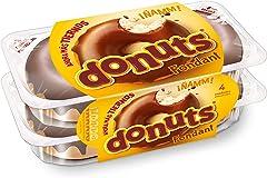 Donuts Fondant de 4 unidades envasados, 228gr (57gr cada Donuts)
