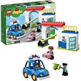 LEGO DUPLO Police Station Building Blocks for Kids (38 Pcs)10902
