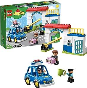 LEGO® DUPLO® Rescue Le commissariat de police Jeu de construction, 2 Ans et Plus, 38 Pièces ...