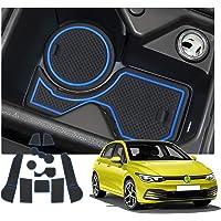 Farbe : Red 11pcs Auto-Innent/ür-Cup-Kissen Auto-T/ür-Slot-Matte Gilt nur for Audi Q2 // Q2L 2017-Present SYJY-SHOP Auto-Anti-Staub-T/ür-Slot Pad Anti-Rutsch-Staub Mat Intorior Zubeh/ör