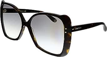 Gucci Occhiali da Sole GG0471S HAVANA/GREY SHADED 62/16/145 donna