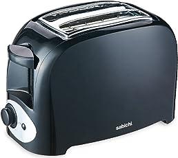 Sabichi 2-Slice Toaster, Black