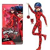 Bandai- Miraculous Ladybug. Bambola da 26 cm. Ladybug-P50001, P50001