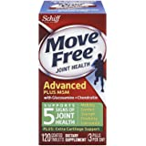 Schiff Move Free Joint Health, Glucosamine Chondroitin Plus MSM 120 Coated Tablets