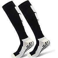 ZOUYUE 1 Pair High Performance Thermal Ski Socks, Warm Long Hose Cushioned Non-slip Aheletic Socks for Football…