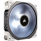 Corsair - CO-9050041-WWML120 - PRO Ventilateur de Boitier, 120mm, Premium Ventilateur à Lévitation Magnétique, Blanc LED (Sin