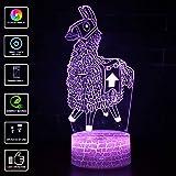 3D Visuelle Lampe, LED Schlafzimmer Lampen Night Light Kunst Skulptur Lichter Schreibtisch Lichter für Kinder Geschenk Mit Fernbedienung. (Model 13)