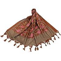 Traditions Bazaar Women's Printed Art Silk Dupatta