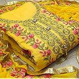 Krishna Enterprise Exclusive Woman's Traditional Dress Material