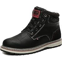 AX BOXING Uomo Stivali da Neve Invernali Scarpe Allineato Pelliccia Caloroso Caviglia Piatto Stivaletti Sportive Boots…
