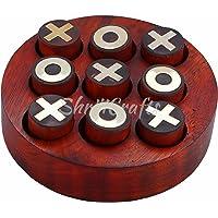 Ortus Arts Wooden Noughts and Crosses / Tic Tac Toe / Tic Tak Toe / TIK Tak Toe Pedagogical Board / Brain Teaser Games…