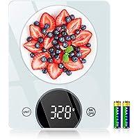 Cocoda Balance de Cuisine, 10kg Balance Cuisine Électronique avec Précision de 1g & 4 Unités de Pesée, Fonction Tare…