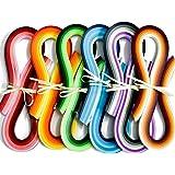 JUYA Papier Quilling Set 720-Streifen 36 Farben 54cm Länge/Streifen Papierbreite 5mm