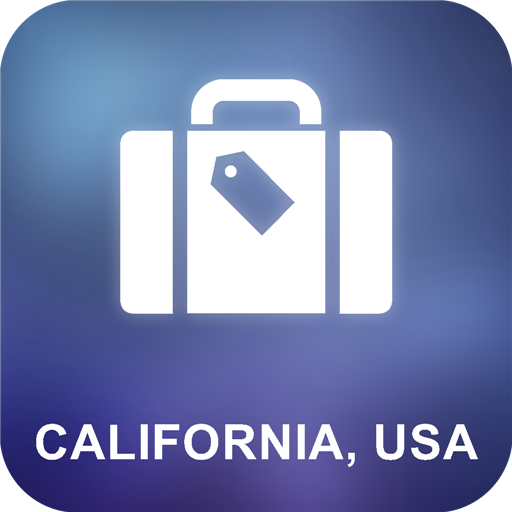 California, USA Offline Map (Karten California)
