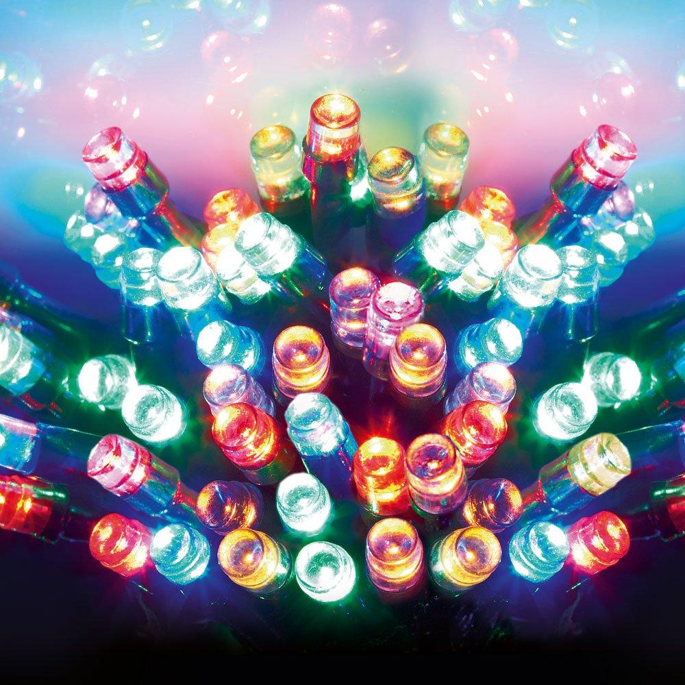 Premier Christmas Lights LED Supabrights Indoor or Outdoor 200 ...