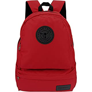 Urban Tribe Havana Basics 15.6 Inch| Water Repellent |27 litres | Laptop Backpack for Men and Women  Red