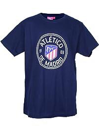 Atlético de Madrid Camiseta Print - Nuevo Escudo 4b5fca994494b