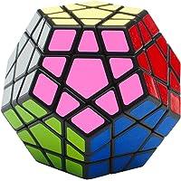 EASEHOME Megaminx Speed Cube, 3x3 Dodecahedron Magic Puzzle Cube Magique Cubo avec Autocollant de PVC pour Enfants et…