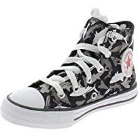 Converse Chuck Taylor all Star Kids - Hi - Nero/University Rosso/Bianco Canvas