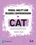 Verbal Ability and Reading Comprehension for CAT, 4e