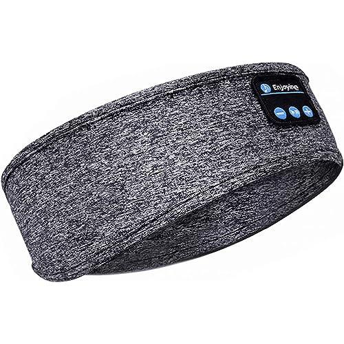 Upgrage - Cuffie per dormire, auricolari Bluetooth, morbidi e senza fili, con altoparlanti integrati per allenamento, corsa, yoga, viaggi in aria (F-X26)