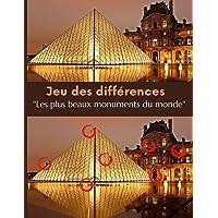 Jeu des différences: Les plus beaux monument du monde à (re)découvrir avec le jeu des differences pour adolescent…