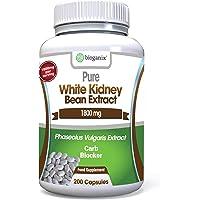 BioGanix White Kidney Bean Extract, 1800 mg -200 Capsules