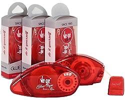 VE-GE Glue Tape, Kırmızı, 8mm x 8m