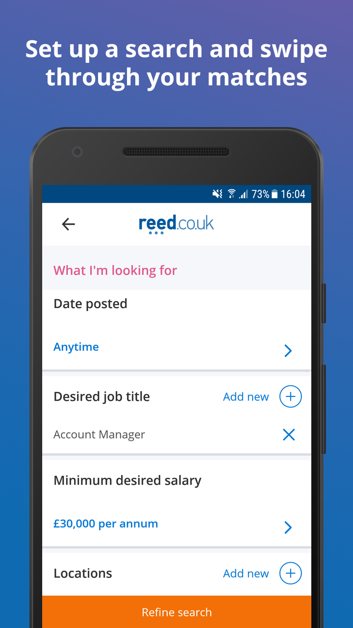 Reed Co Uk Job Search Amazon Co Uk Appstore For Android