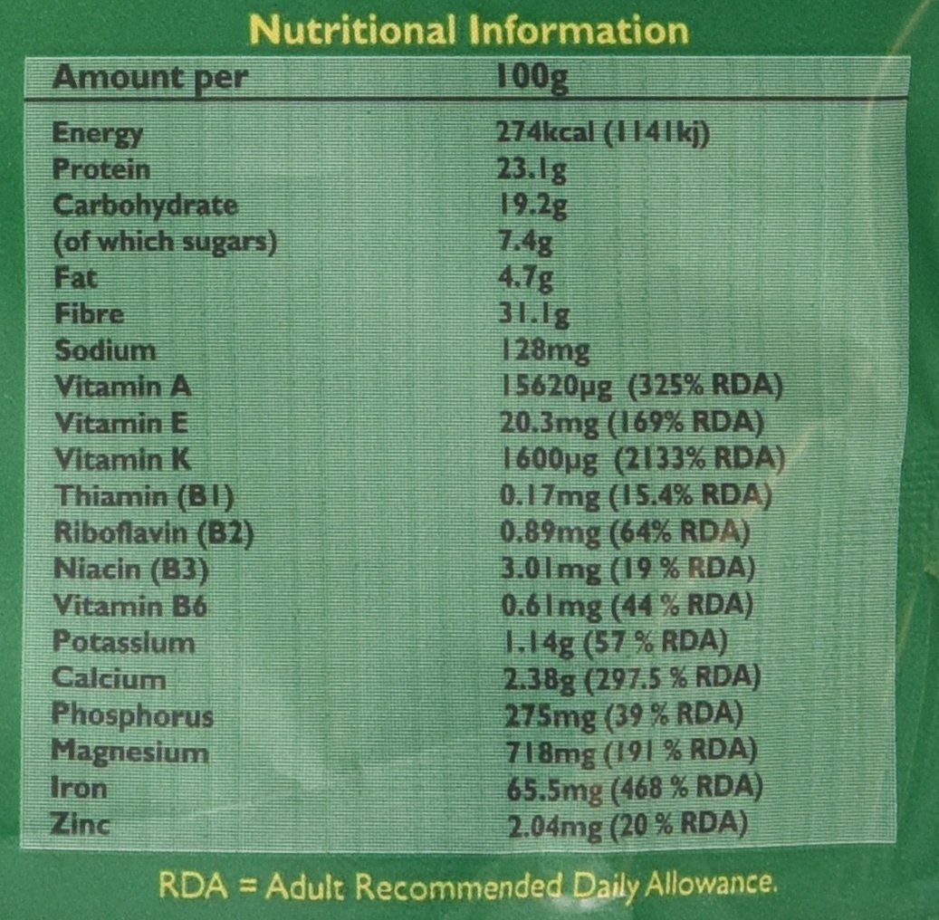 Aduna Organic Moringa Superleaf Powder 275g 2
